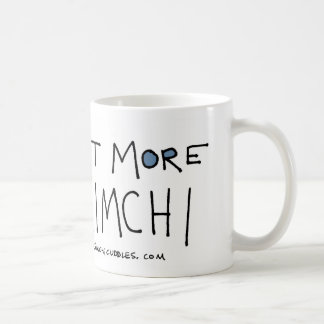 Coma taza de más Kimchi