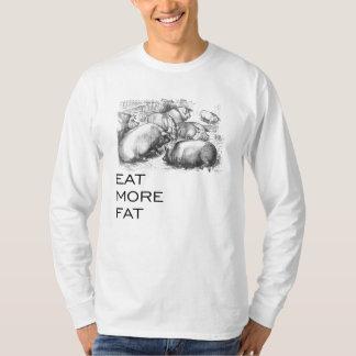 Coma una camisa más gorda
