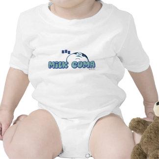 Coma ZZZs de la leche Camisetas