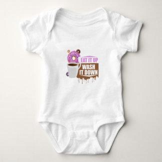 Cómalo para arriba - arrástrelo mameluco de bebé