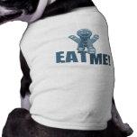 ¡CÓMAME! Hombre de pan de jengibre - azul Camiseta De Perrito