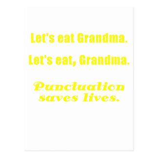 Comamos a la abuela tarjetas postales