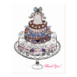 Comamos la postal/invitaciones del ~ de la torta