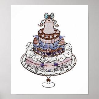 ¡Comamos la torta! Impresión del ~