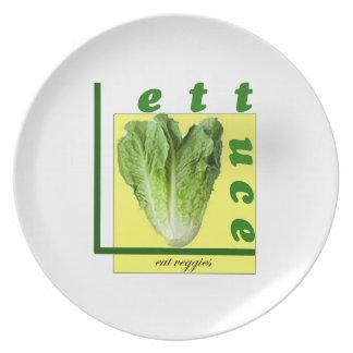 Comamos los Veggies Plato De Cena