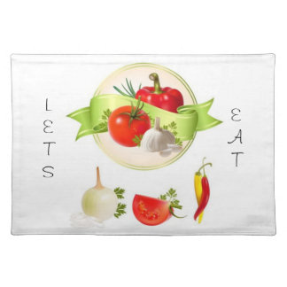 Comamos Placemat Manteles Individuales