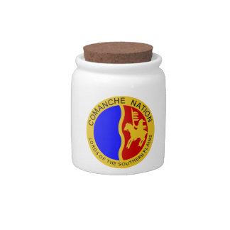 Comanche Candy Jar