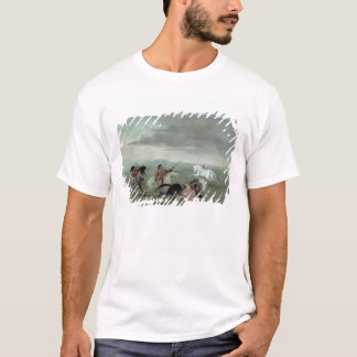 Comanche Feats of Martial Horsemanship, 1834 (oil T-Shirt