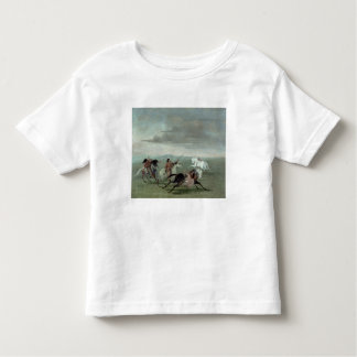 Comanche Feats of Martial Horsemanship, 1834 (oil Toddler T-shirt