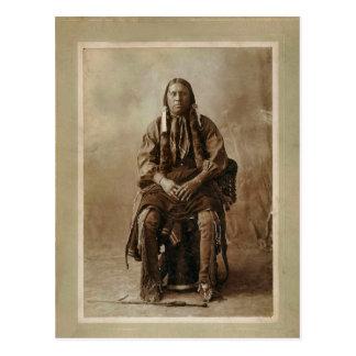 Comanche Medicine Man 1898 Postcard