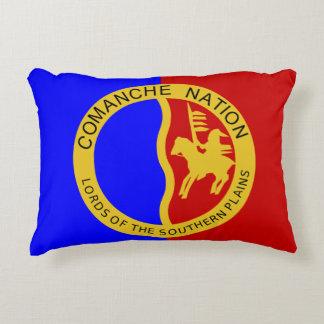 Comanche Nation Flag Decorative Pillow