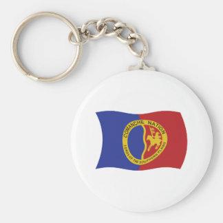 Comanche Nation Flag Keychain