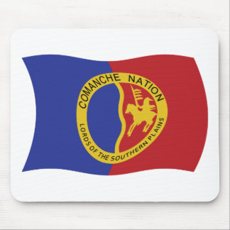Comanche Nation Flag Mousepad