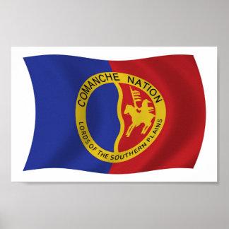 Comanche Nation Flag Poster Print
