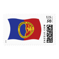 Comanche Nation Flag Stamps