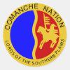 Comanche Seal Classic Round Sticker