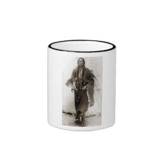 Comanche solitario tazas de café