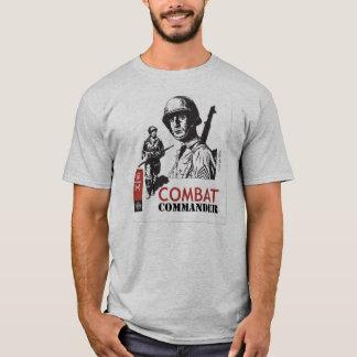 Comandante Custom del combate Playera