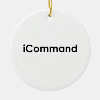 comandante de la banda del iCommand Adorno