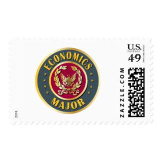 Comandante de la economía timbres postales