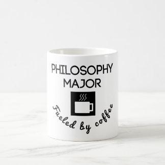 Comandante de la filosofía aprovisionado de taza básica blanca