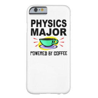 Comandante de la física accionado por el café funda de iPhone 6 barely there