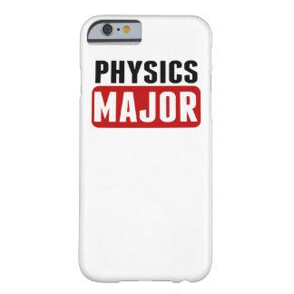 Comandante de la física funda para iPhone 6 barely there