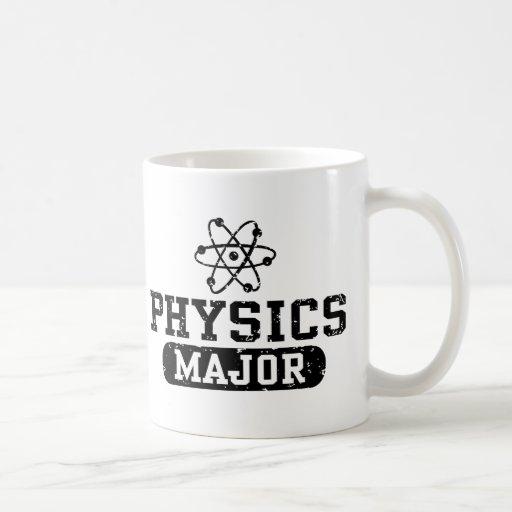 Comandante de la física taza básica blanca