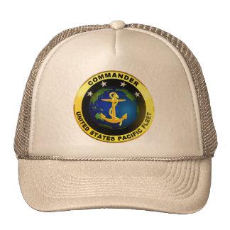 Comandante de la Flota del Pacífico Gorras De Camionero