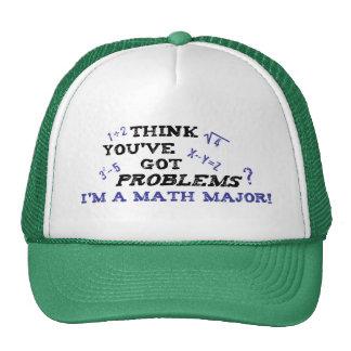 comandante de matemáticas divertido gorras de camionero