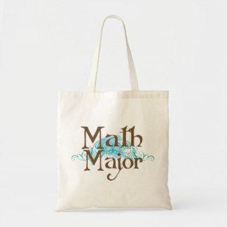 Comandante de matemáticas regalo bolsas lienzo