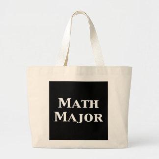 Comandante de matemáticas regalos bolsas de mano