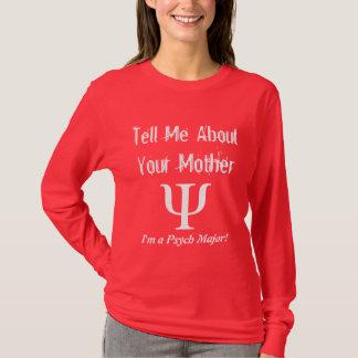 Comandante de Psych - camiseta de las señoras