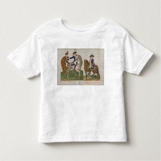 Comandante del ejército y un oficial t-shirts