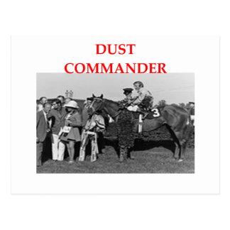 comandante del polvo postales