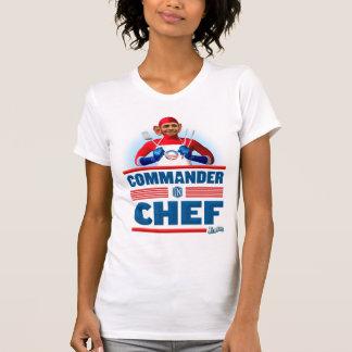 Comandante en cocinero playeras