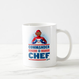 Comandante en cocinero taza