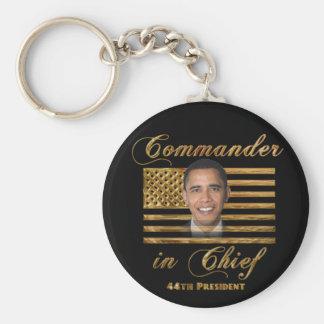 Comandante en jefe, Barack Obama Llaveros Personalizados
