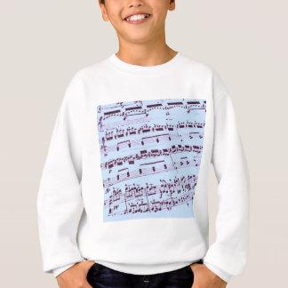 Comandante/estudiante/profesor de la música sudadera