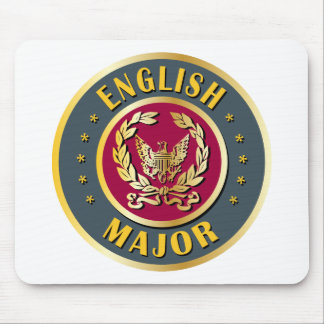 Comandante inglés mousepad