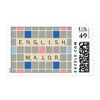 Comandante inglés sellos postales