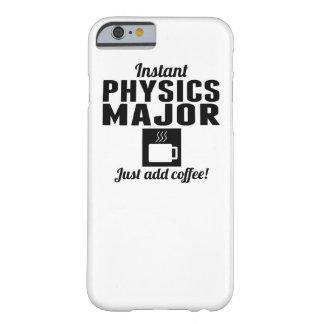Comandante inmediato de la física funda de iPhone 6 barely there