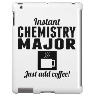 Comandante inmediato de la química funda para iPad