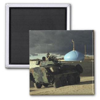 Comandante ligero del vehículo blindado imán cuadrado