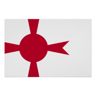 Comandante Of Imperial japanese Navy, bandera de Póster