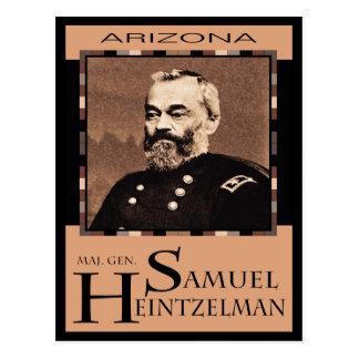 Comandante. Postal de Gen. Samuel P. Heintzelman