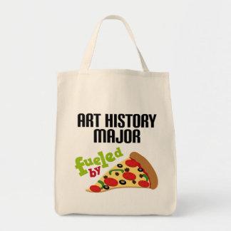 Comandante regalo (pizza) de la historia de arte bolsa