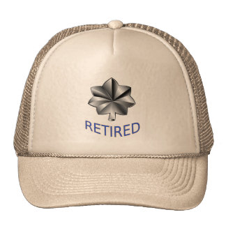 Comandante Retired Hat del guardacostas Gorro De Camionero