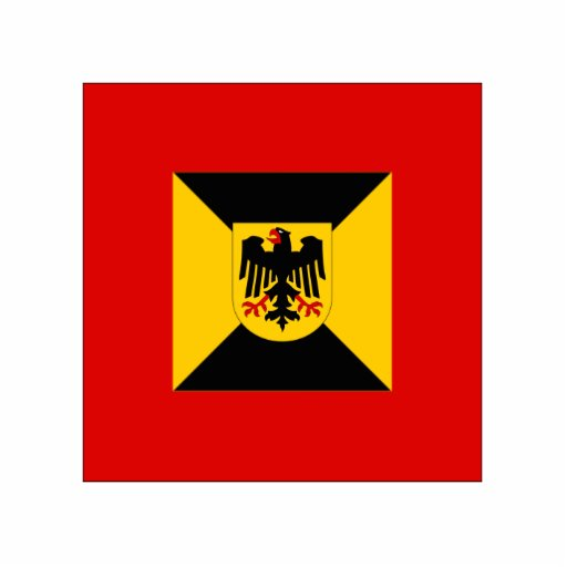 Comandante territorial del comando, bandera de Ale Escultura Fotografica