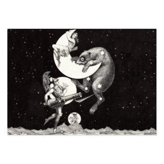 Comandante y Marte celestiales de Luna Ursa de la Tarjetas De Visita Grandes